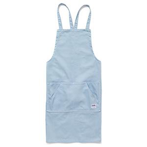 胸当てエプロン LCK79003−6 ブルー
