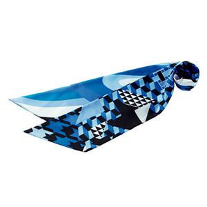 スカーフ BCA9109−6 ブルー