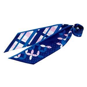 スカーフ BCA9110−6 ブルー