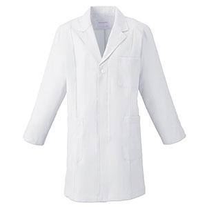 メンズ 薬局衣 (ハーフコート) 1520−1 ホワイト