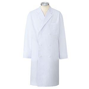 ドクターウェア 男子診察衣ダブル 1531PO−1 ホワイト