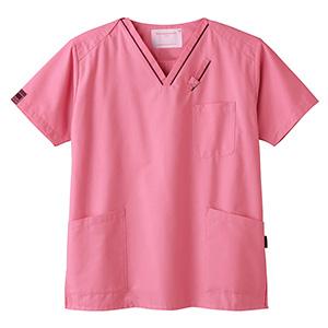 スクラブ 男女兼用 7003SC−3 ピンク