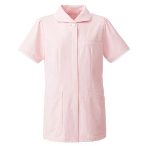 ナースウェア チュニック 2005CR−3 ピンク/ホワイト