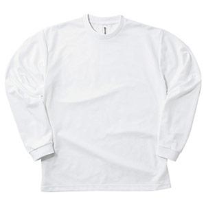 ドライロングスリーブTシャツ 00304−ALT 001 ホワイト SS〜5L