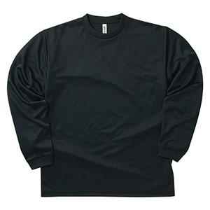 ドライロングスリーブTシャツ 00304−ALT 005 ブラック SS〜5L