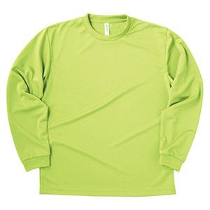 ドライロングスリーブTシャツ 00304−ALT 024 ライトグリーン SS〜5L