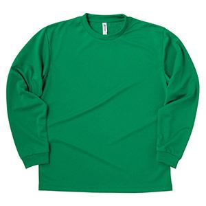ドライロングスリーブTシャツ 00304−ALT 025 グリーン SS〜5L