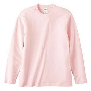 5.6oz ロングスリーブ Tシャツ 5010−01 576 ベビーピンク