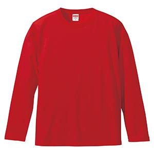5.6oz ロングスリーブ Tシャツ 5010−01 069 レッド
