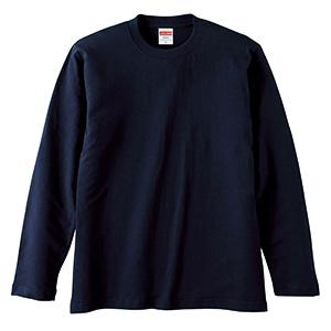 5.6oz ロングスリーブ Tシャツ 5010−01 086 ネイビー