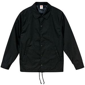 T/C コーチ ジャケット(裏地付) 7448−01 002 ブラック