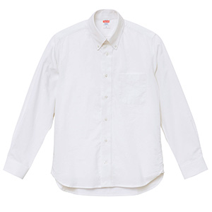 オックスフォード ボタンダウン ロングスリーブ シャツ 1269−01 440 OXホワイト