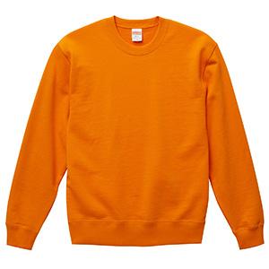 10.0oz クルーネック スウェット(裏パイル)<アダルト> 5044−01 064 オレンジ