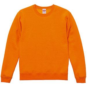 10.0oz T/C クルーネック スウェット(裏起毛) 5928−01 064 オレンジ