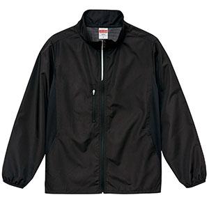 マイクロリップストップ スタンド ジャケット(裏地付) 7068−01 002 ブラック