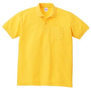 T/Cポロシャツ ポケット付き 00100−VP 165 デイジー SS〜LL