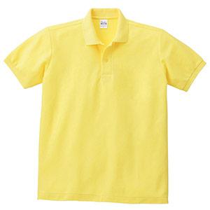 T/Cポロシャツ ポケット無し 00141−NVP 020 イエロー SS〜5L