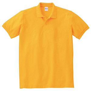 T/Cポロシャツ ポケット無し 00141−NVP 077 ゴールドイエロー SS〜5L