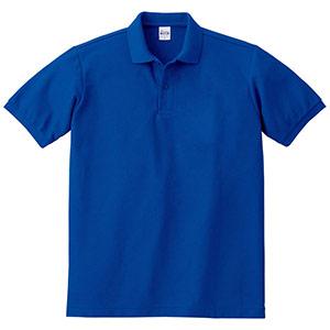 T/Cポロシャツ ポケット無し 00141−NVP 032 ロイヤルブルー SS〜LL
