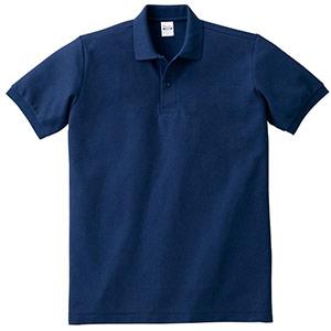 T/Cポロシャツ ポケット無し 00141−NVP 031 ネイビー SS〜LL