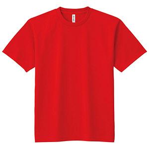 ドライTシャツ 00300−ACT 010 レッド SS〜5L