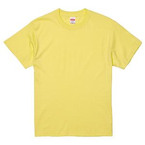 5.6oz ハイクオリティーTシャツ 5001−01 487 ライトイエロー