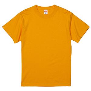 5.6oz ハイクオリティーTシャツ 5001−01 022 ゴールド
