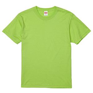 5.6oz ハイクオリティーTシャツ 5001−01 036 ライムグリーン