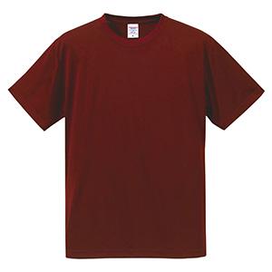 4.7oz ドライシルキータッチ Tシャツ (ローブリード)<アダルト> 5088−01 072 バーガンディ