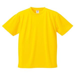 4.1oz ドライアスレチックTシャツ <アダルト> 5900−01 190 カナリアイエロー