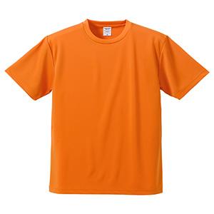 4.1oz ドライアスレチックTシャツ <アダルト> 5900−01 064 オレンジ