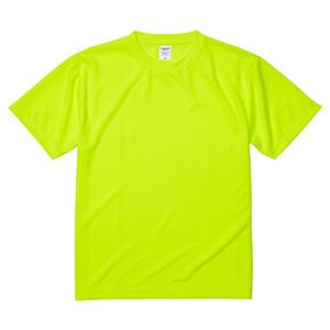 4.1oz ドライアスレチックTシャツ <アダルト> 5900−01 111 蛍光イエロー