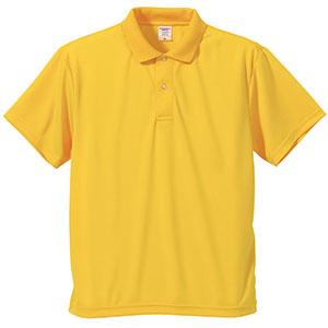 4.1oz ドライアスレチックポロシャツ 5910−01 190 カナリアイエロー