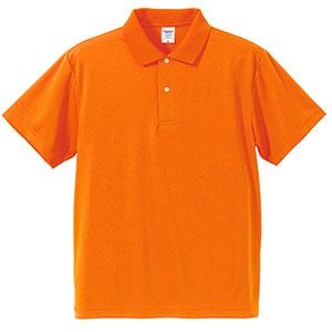 4.1oz ドライアスレチックポロシャツ 5910−01 064 オレンジ