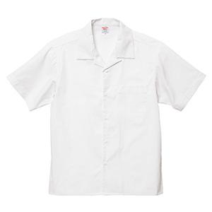 T/C オープンカラー シャツ 1759−01 003 オフホワイト
