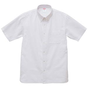 オックスフォード ボタンダウン ショートスリーブ シャツ 1268−01 440 OXホワイト