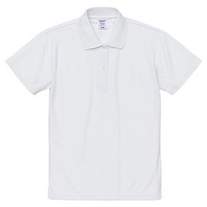 4.7oz スペシャル ドライ カノコ ポロシャツ(ローブリード)<ウィメンズ> 2020−03 001 ホワイト