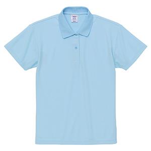 4.7oz スペシャル ドライ カノコ ポロシャツ(ローブリード)<ウィメンズ> 2020−03 488 ライトブルー