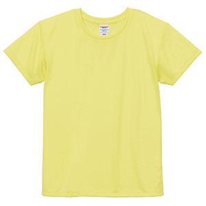 4.1oz ドライアスレチックTシャツ <ウィメンズ> 5900−03 487 ライトイエロー