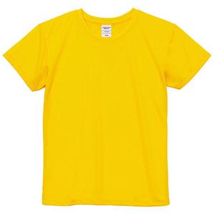 4.1oz ドライアスレチックTシャツ <ウィメンズ> 5900−03 190 カナリアイエロー