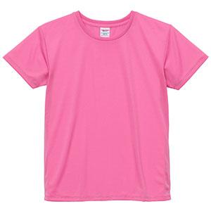 4.1oz ドライアスレチックTシャツ <ウィメンズ> 5900−03 066 ピンク