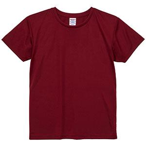 4.1oz ドライアスレチックTシャツ <ウィメンズ> 5900−03 072 バーガンディ