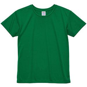 4.1oz ドライアスレチックTシャツ <ウィメンズ> 5900−03 029 グリーン