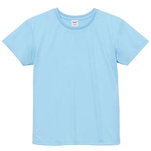 4.1oz ドライアスレチックTシャツ <ウィメンズ> 5900−03 488 ライトブルー
