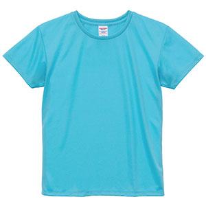 4.1oz ドライアスレチックTシャツ <ウィメンズ> 5900−03 083 アクアブルー