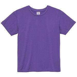 4.1oz ドライアスレチックTシャツ <ウィメンズ> 5900−03 539 バイオレットパープル