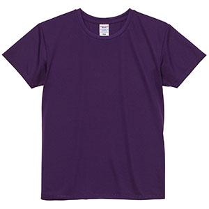 4.1oz ドライアスレチックTシャツ <ウィメンズ> 5900−03 062 パープル