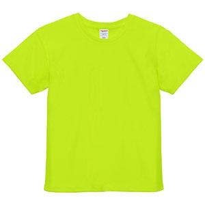 4.1oz ドライアスレチックTシャツ <ウィメンズ> 5900−03 111 蛍光イエロー