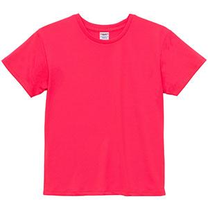 4.1oz ドライアスレチックTシャツ <ウィメンズ> 5900−03 114 蛍光ピンク
