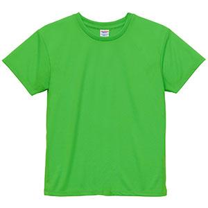 4.1oz ドライアスレチックTシャツ <ウィメンズ> 5900−03 112 蛍光グリーン